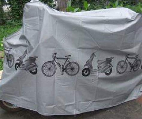 Cover Motor Matic cover sarung pelindung sepeda dan motor matic gray