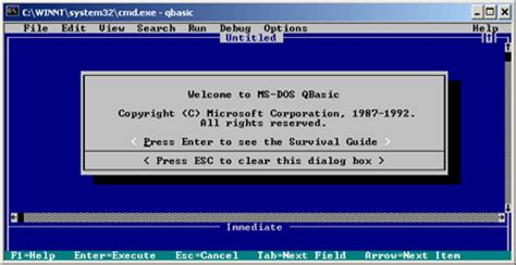 Qbasic Drawing by Installing Qbasic