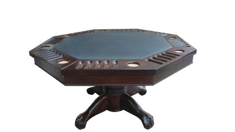 3 in 1 table octagon 54 quot table with slate bumper pool