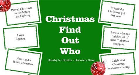 adult christmas icebreakers best 25 breaker ideas on breaker for day youth