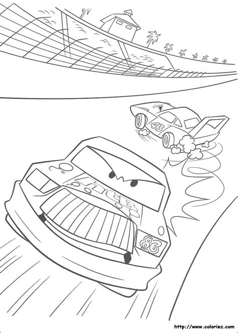 cars coloring pages the king coloriez coloriage cars