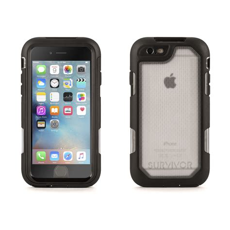 Griffin Survivor For Iphone 6 4 7 griffin survivor iphone 6 6s rugged 10 ft