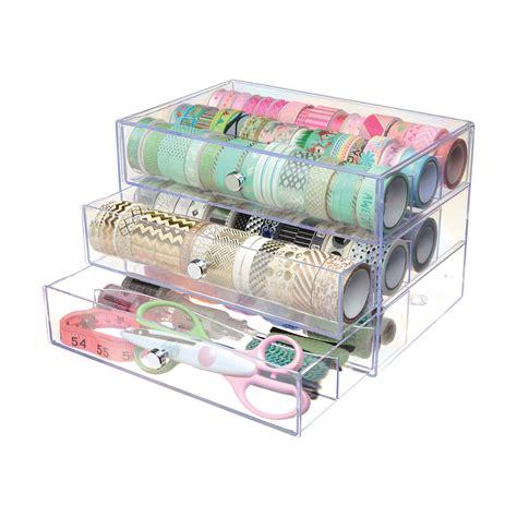 Organizer Tapekabel Organizer washi storage cube deflecto llc