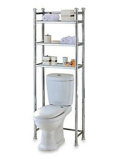 over the toilet standing shelf over the toilet bathroom over the toilet stand home ideas