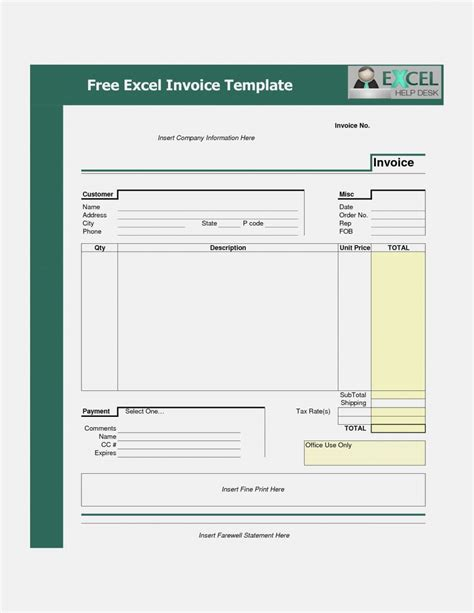 xls invoice template 28 images invoice templates excel
