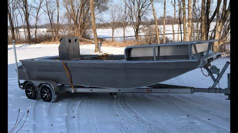 bowfishing boat build 2284 bowfishing custom built boat youtube