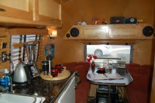 vintage airstream trailer interiors from oldtrailer