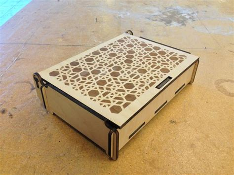 laser cut wood box template make a simple wood box at techshop