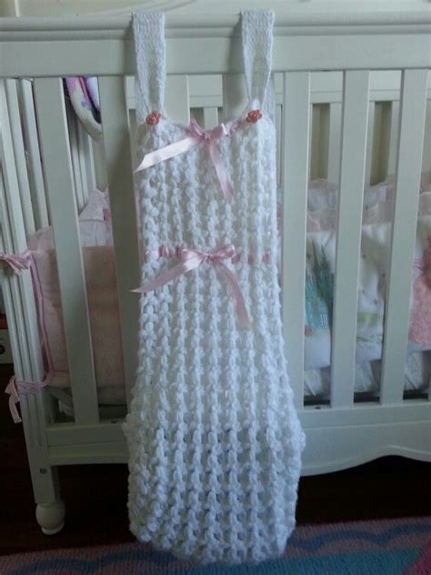 diaper holder pattern free mom s crochet diaper stacker axl and xandra pinterest