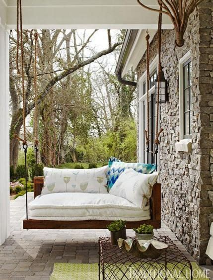 swinging beds bedroom an alluring swing bed hangs on the porch just outside the