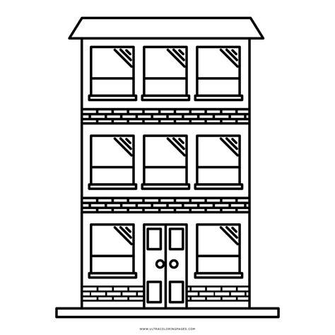 pintar apartamento dibujo de apartamento para colorear ultra coloring pages