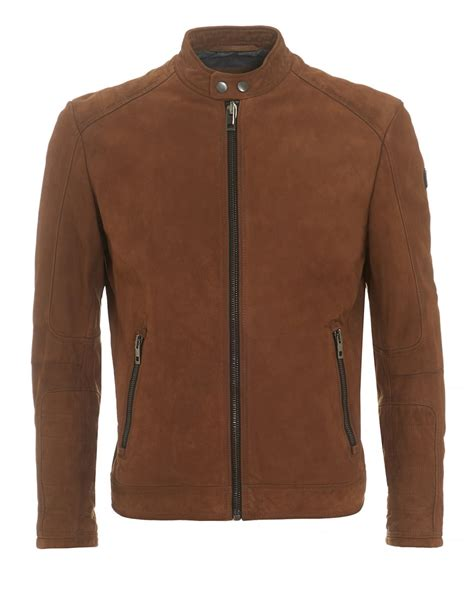 Hugo Leather Jacket Kangaroo Material hugo orange mens jondrix jacket suede leather