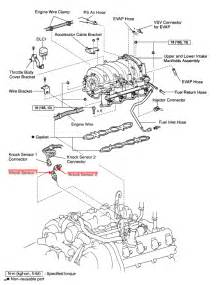 Toyota Location Toyota Tundra Sr5 Where Is The Knock Sensor Located On On