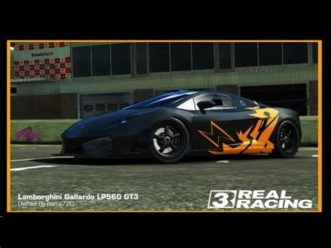 lamborghini custom paint job real racing 3 custom paint job lamborghini gallardo