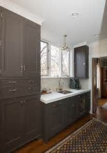 White Tiled Bathroom - dark taupe cabinets transitional kitchen kitchen lab