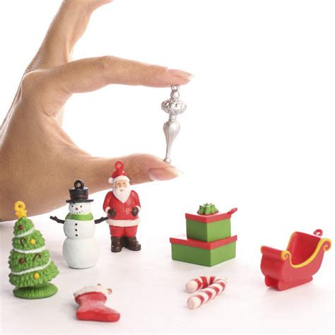 collections of small christmas figurines easy diy