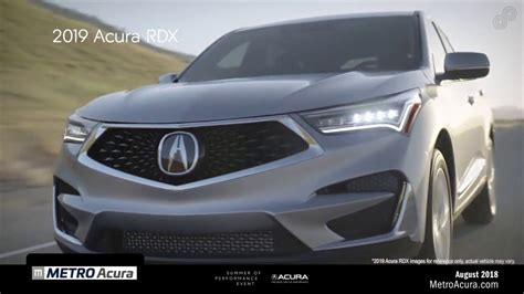 metro acura 2019 acura rdx lease used car reviews review release