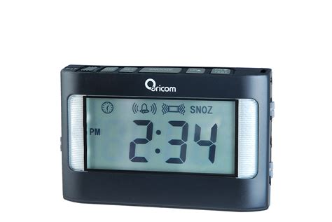 buy an oricom vac500 portable vibrating alarm clock in australia