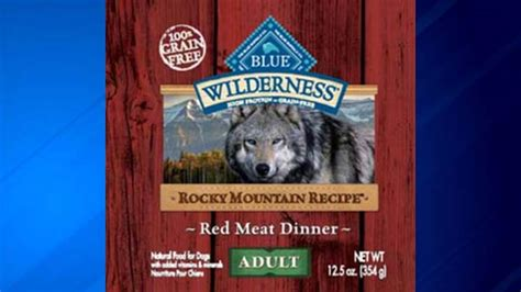 blue buffalo puppy food recall blue buffalo recalls food that could sicken pets abc11