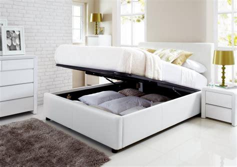 ottoman storage beds uk henley white leather ottoman storage bed ottoman beds beds