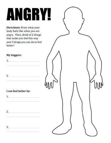 What Is Anger Worksheet by New Product Dealing With Anger Activity Pack One Stop
