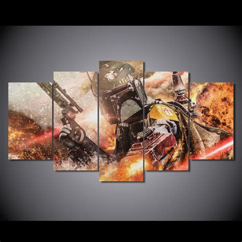 painting for 5 canvas printed wars 5 picture painting