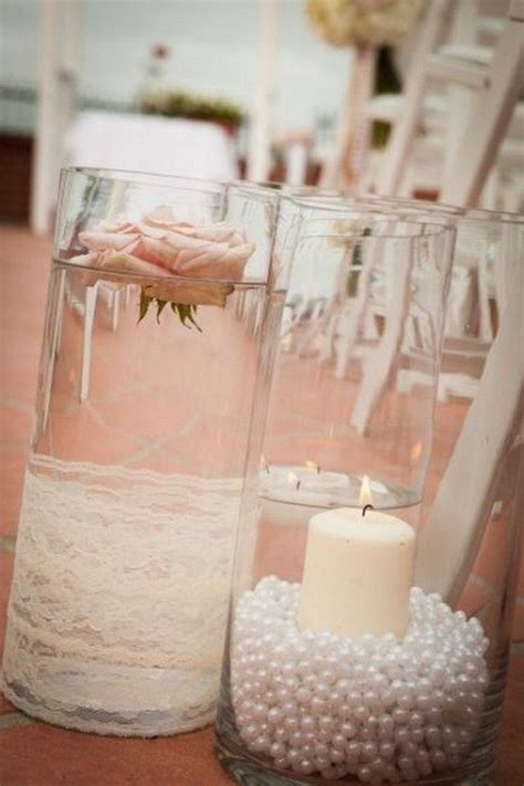 Lace Wedding Anniversary Ideas by 25 Best Ideas About Pearl Centerpiece On Lace