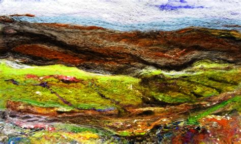 makers landscape needle felt landscapes makers