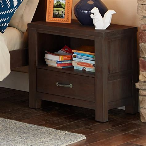 Kid Nightstand by Ne Highlands 11530 Single Drawer Stand With