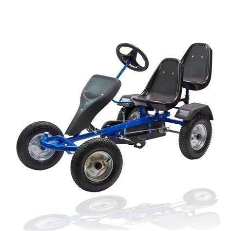 Gebrauchte Motor Go Karts by Gokart Tretauto Xl Blau Schwarz