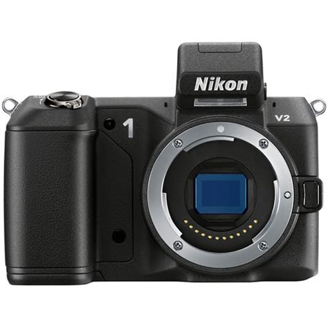mirrorless nikon nikon nikon 1 v2 mirrorless digital black 27602 b h