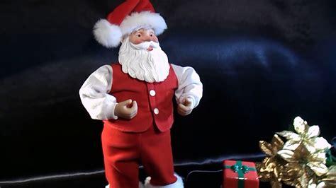 radio shack rockin santa animated figure