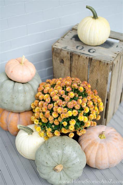 amazing Front Door Paint Colors Pictures #2: farmhouse-pumpkins_.jpg