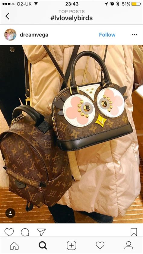 Lv Alma Mono Owl The Lvoely Birds Club Purseforum