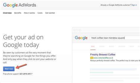 cara membuat akun google voice panduan cara membuat akun google adwords
