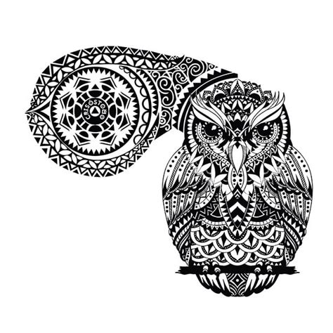 tribal owl tattoo meaning owl meanings custom design