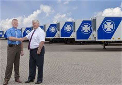 boat trailer hire peterborough dfds logistics reinforce reefer fleet latest industry