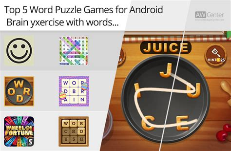 best puzzle for android top 5 word puzzle for android brain exercise with words