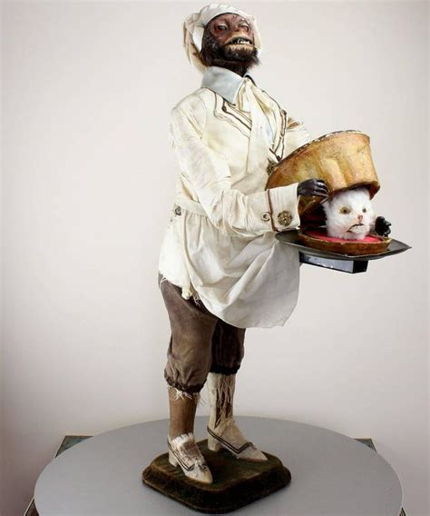 antique monkey pastry cook musical automaton by roullet