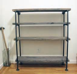 3 Shelf Black Bookcase Diy Rustic Shelf Building Keen