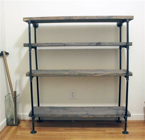 rustic industrial shelving diy shelving unit interior extraordinary diy rustic shelf building with black pipe material and