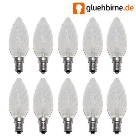 glühbirne e14 40 watt matt 10 x gl 252 hbirne kerze gedreht 40w e14 matt gl 252 hbirnen gl uum