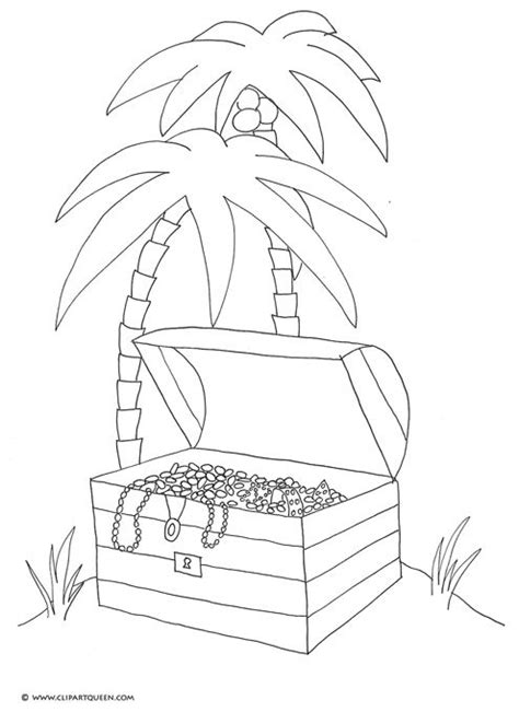 coloring pages treasure island son treasure island clip art pirate treasure chest