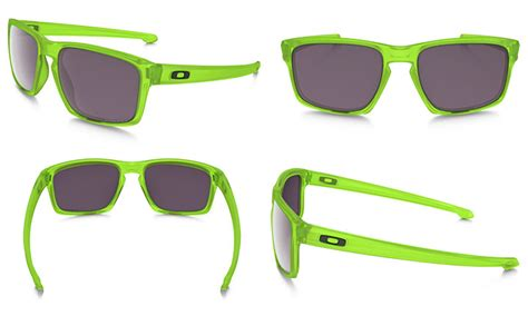 Oakley Sliver Uranium Collection Original six neon shades for summer sun rxsport news
