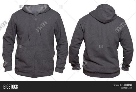 jacket design back blank sweatshirt mock template image photo bigstock