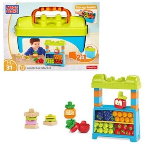 Mega Bloks Stacking Snacks Building Blocks Set Dpy42 mega bloks builders lunch box market best educational infant toys stores singapore