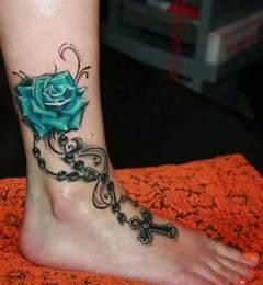 10 foot rose tattoo designs pretty designs