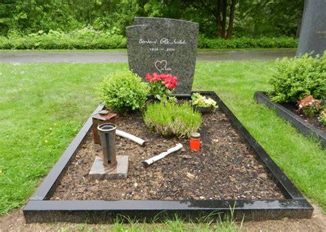 Was Kostet Ein Grabstein Mit Umrandung by Einzelgrabanlagen Und Einzelgrabsteine Bachmann Wille Gmbh
