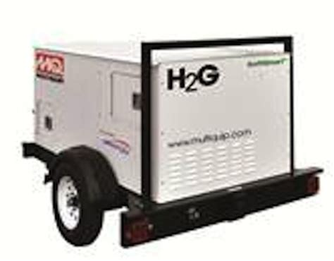 hydrogen fuel cell powered generator utility products