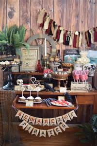 Home Decor Garland by Party Feature Captain Jack Sparrow Pirate Party Pizzazzerie
